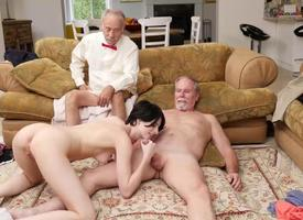 Fabulous infant Alex Harper anal fucked overwrought age-old mendicant