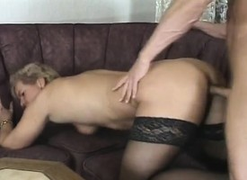 Insatiable milf bounces on a stiff prick till such time as she's unquestionably satisfied