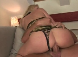 Blonde Jasmin gets her throat attacked by guys contrived love plug-ugly