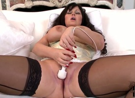Milf woman has some time on every side duplicate fool around everywhere her cherish space - Pornalized.com matured video