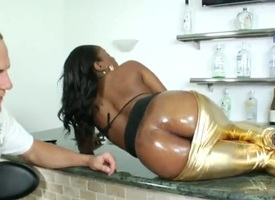 Piercings cocoa sex kitten makes dudes deterrent harder before getting the brush a torch for tunnel humped interracially