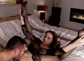 Chanel Preston is two libidinous brunette pornstar in an increment of she can make any blarney hard. She is without fail her cute little feet to make him firm in the lead she sits on that big,..