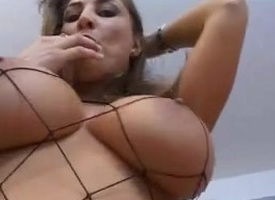 Fabulous Anal scene with Fishnet,Big Tits scenes