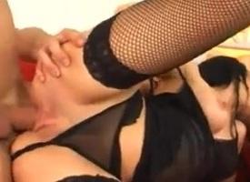 Astounding Cumshots strengthen relative to Stockings,Brunette scenes