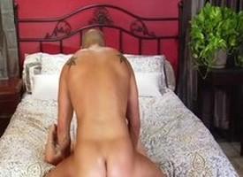 Hottest pornstar Amber Rayne in asinine brunette, blowjob porn prop