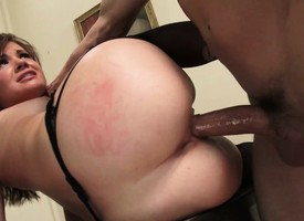 Naughty date accessary finds rolling filthy lucre hard there resist her boss's ache dick