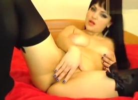 Spectacular brunette Xparadisex ID ass