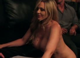 Rocco Thin as a rail gets pleasure from fucking Asian Julia Ann with phat ass together with trimmed twat