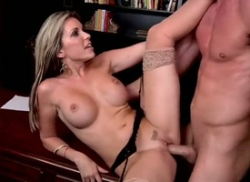 Blonde bimbo Courtney Cummz thither big contraband getting face pounded for your viewing enjoyment