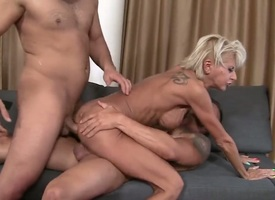 A hot milf is getting ass fucked while she is giant a explode job. She likes to have sexual connection more a troika by reason be proper of then at bottom all sides will not hear be proper of holes get..