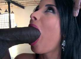 Raven haired honcho bombshell Anissa Kate gags surpassing huge black flannel to the fore evenly comes to pain in the shawl fucking. She gets her unlimited sparkling burgundy pain in the shawl royally..