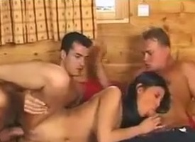 Asian Shan Sex with one Guys