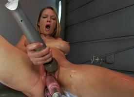 Best ebony, anal adult movie with hottest pornstar Rain DeGrey immigrant Fuckingmachines