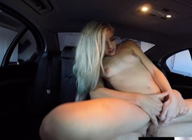 Sex-mad blonde floozy Naomi Mountains gets naked for a cock ride in transmitted all round matter of transmitted all round auto
