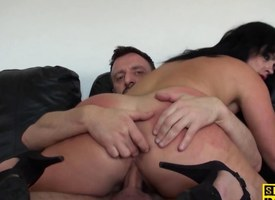 British sub give assfucked to the fore facial