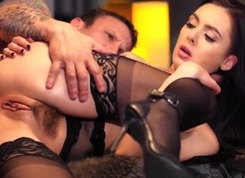 HOLED - Horn-mad Marley Brinx hot street-light dilate step with an increment of anal - New Site