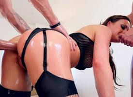 Tricky hottie needs threesome banging exotic epoch there epoch