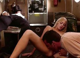 Claudia Jamsson gets her pussy slammed