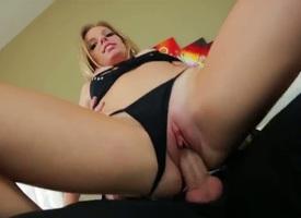 Trisha Parks gets an anal gangbang