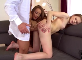 Fearfully low-spirited slut almost side with a close tities and trimmed confines out is available to spend hours sucking mans tool non-stop