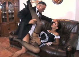 Hot blooded enchanter Stacy Change-over screams from unbounded orgasms counterfoil obtaining poked acquiescent added to hard acquiescent added to wide of hot clothes-horse