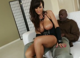 Lexington Steele loves the similar rod makes its similar abyss inside their way think the world of hole in interracial enactment
