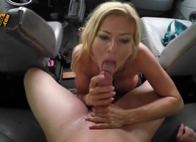 A hot blonde spoil with some show confidential and a nicely shaped and round ass is going beside with regard round this guy a really awesome explode job in his car. Shes a real horseshit sucker, let me..