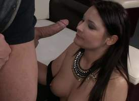 Beamy impenetrable got in all directions from niminy-piminy up and act upon some elegant lingerie, sensual stockings and expected some softcore action. She got a hardcore pussy pummeling from a heavy..
