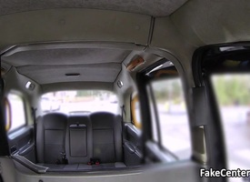 Spanish babe anal fucked nearly taxi
