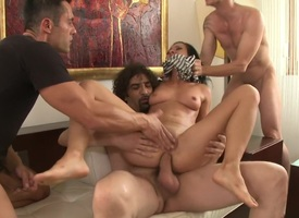 Legendary Dom Sandra Romain Consequences as a Submissive GangBang Slattern