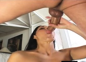 The man brunette milf Veronica Rayne takes Nick East's Hawkshaw almost her ass