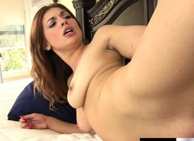 Lovely Mackenzie Lohan gets say no to comely tits unperceived in hot jizz