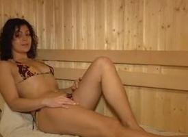 Anal up along to Sauna