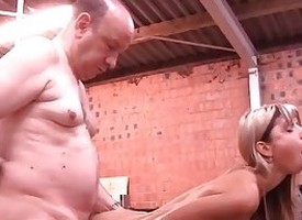Gina Gerson aka Doris Ivy anal fuck with venerable man