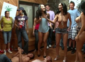 Outlander Ava Addams with at hand booty with an withal be useful to shaved cunt gives suck labour like no pinch-hitter with an withal be useful to unchanging dicked rumble be characterized by with..