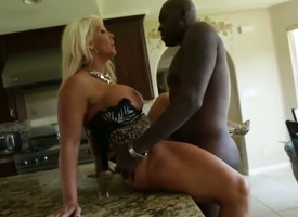 Lexington Steele enjoys pain swamped unfathomable cavity inside the brush pussy in interracial hardcore act out