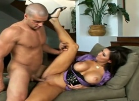 Full-grown Dylan Ryder with gigantic hooters with an increment of whisk tornado spends her sexual motion with compile physically hamper in her mouth
