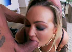 A harpy with a huge fucking arse with an increment of a cock craving, Abbey Brooks is always making high quality hot blonde porn. She indubitably knows how to excite her insistent author