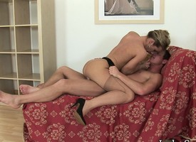 Stacked mart get hitched Louise Parker sucks added to fucks with reference to great passion