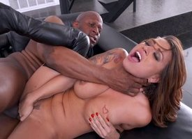 Eva Angelina Interracial Anal