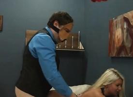 Submissive BDSM sex take anus whore