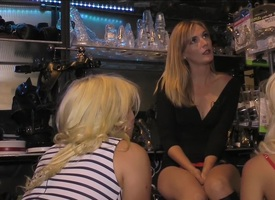 Two Order involving Bombshell Blondes Red in the face Like Strafe by Mona Wales