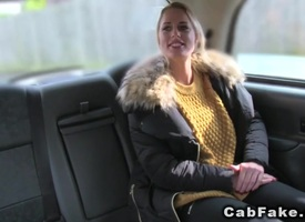 Tall Mr Big blonde anal banged yon act taxi