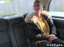 Tall Mr Big blonde anal banged yon act taxi