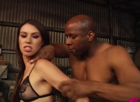 Tiffany Dame pounded anally by a bbc