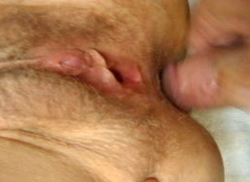 sticking my ball up the brush ass and cumming on the brush hairy holes