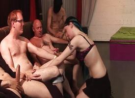 Untrained enjoys will not hear of first gangbang